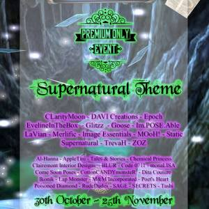 Premium Only {Supernatural 30th-25th nov}