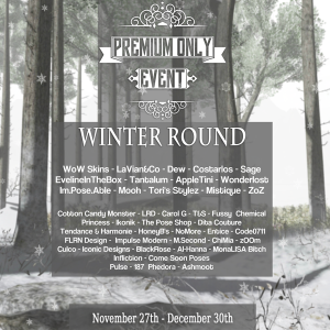 Premium Only Event Winter Round Designers {Poster}