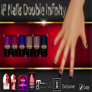 IP Nails Double Infinity AD Square1