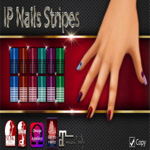 IP Nails Stripes AD